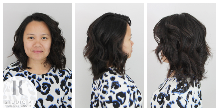 Hidden layers studio k hair designory thin out the bulk without creating too many layers haircut urmus Gallery